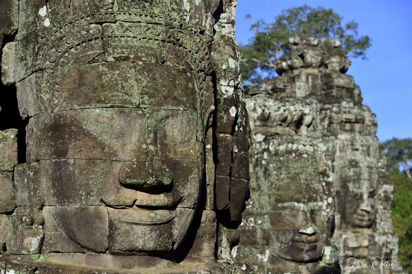 Faces of the BAYON temple