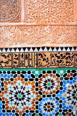 Marrakesh - Ali Ben Youssef Medersa