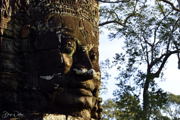 A face of the Bayon Temple