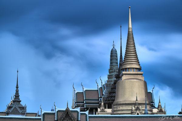 View of the Grand Palace / Wat Phra Kaew (Bangkok, Thailand)
