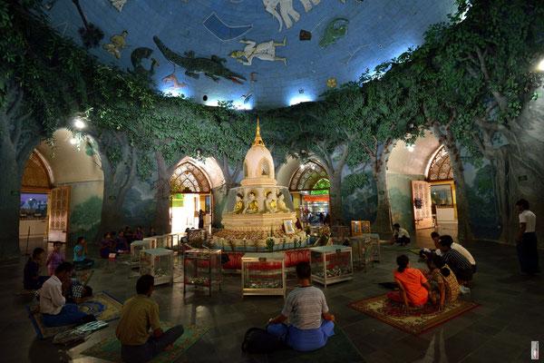 Maha Wizaya Pagoda [Yangon/Myanmar]