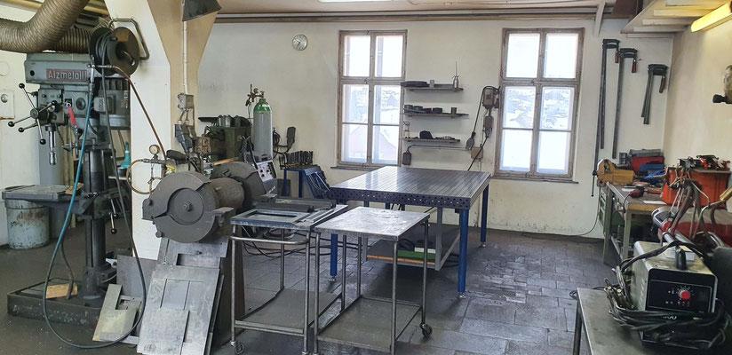 Schochofen Schlosserei - Werkstatt