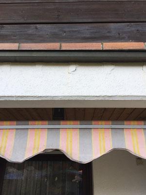 Fassade Rückseite vorher