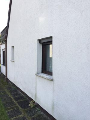 Fassade Giebelseite vorher