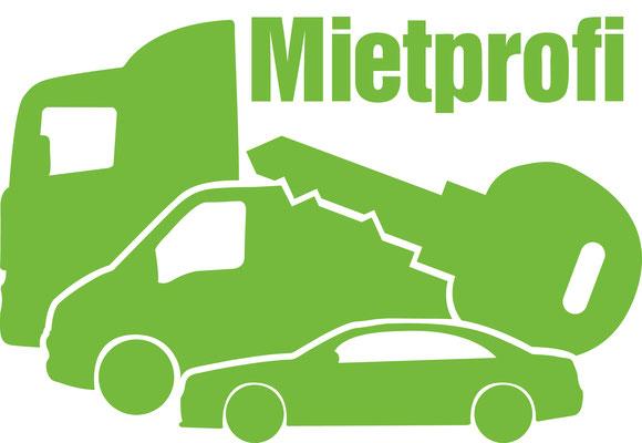 Abgewandeltes Logo für den Mietprofi der Kfz-Service Park GmbH ©2016