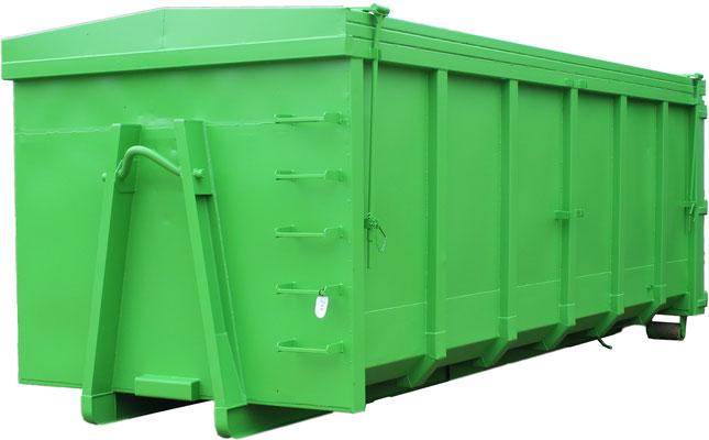 Fertiger Container nach der Farbgebung