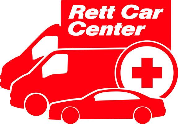 Abgewandeltes Logo für das Rett Car Center der Kfz-Service Park GmbH ©2016