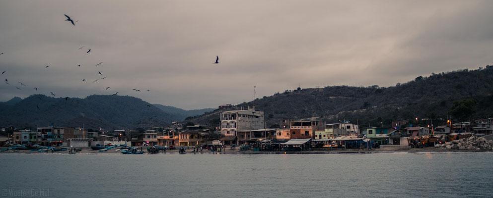 Puerto Lopez Harbour Ecuador