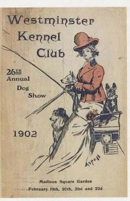 1902 Werbung Hundeausstellung