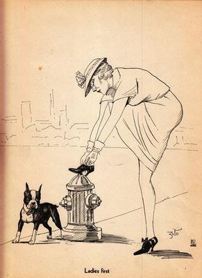 Karikatur, Jahr unbekannt