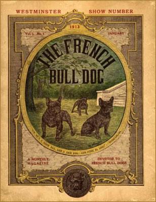 1913 Titelbild auf einem Magazin