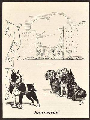 Karikatur Jahr unbekannt