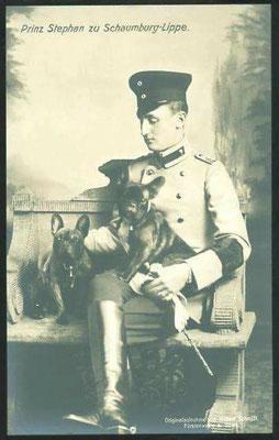 Prinz Stephan zu Schauburg Lippe, Jahr unbekannt