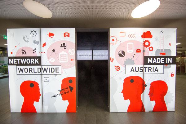 """Ausstellung """"70 Jahre Wirtschaftskammer"""", WKO Wien, 2016"""
