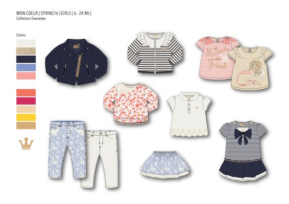 Overview Girls Collection