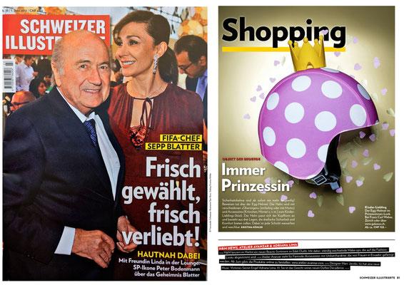 Atelier Avanzar - Schweizer Illustrierte Juni 2015, Ticker