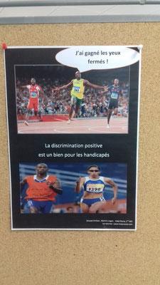 Pour la discrimination positive par Émilien, Logan et Pierre