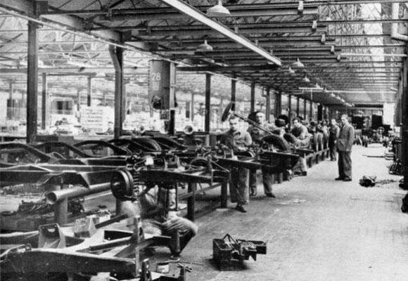 L'usine Citroën en 1919
