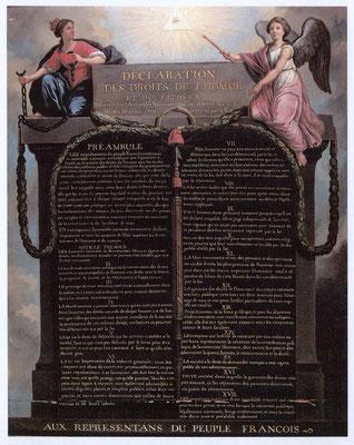 La Constitution française de 1789