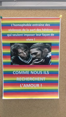 Lutte contre l'homophobie par Adrien, Daniel et Mickaël