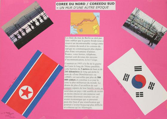 4.  Le mur entre la Corée du Sud et la Corée du Nord