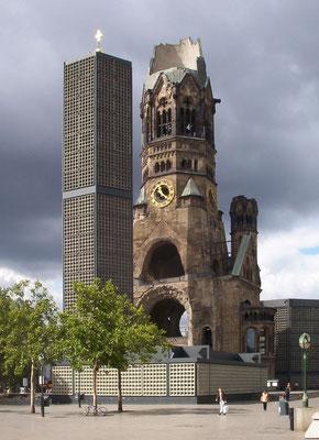 Un mémorial des ruines à Berlin aujourd'hui