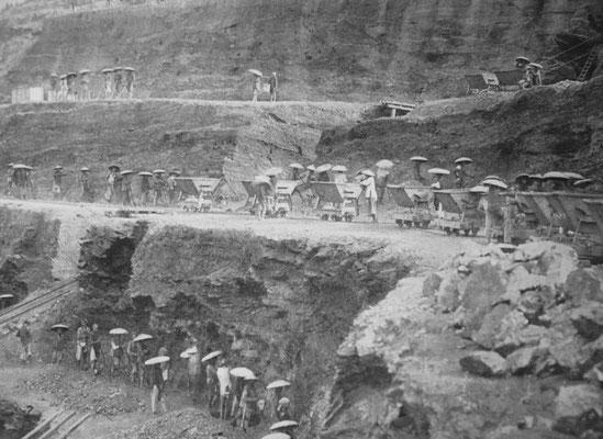Mines à ciel ouvert de Hongay