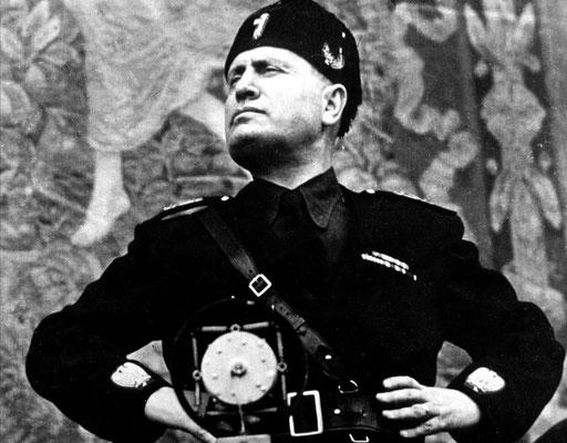 Benito Mussolini (1883-1945), le Duche italien