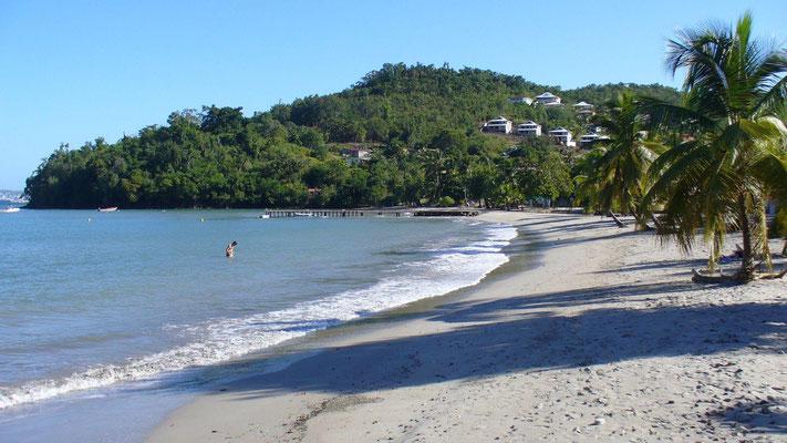 Martinique, plage de l'Anse à L'Ane