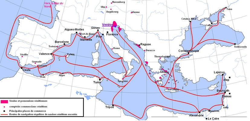 Venise et la Méditerranée au début du XVe siècle