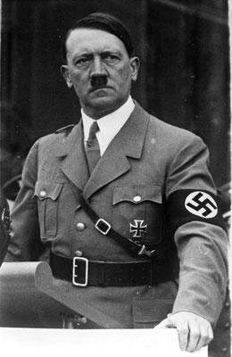 Adolf Hitler (1889-1945), le Führer allemand