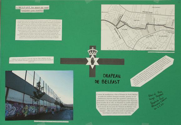 9. Le mur de Belfast entre quartiers catholiques et quartiers protestants