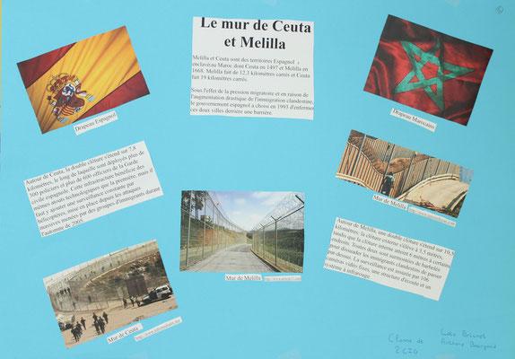 6. Le mur de l'enclave espagnole de Ceuta et Melilla au Maroc
