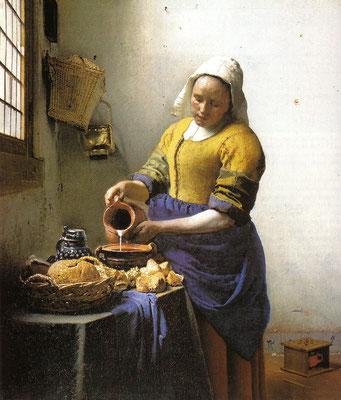 Vermeer de Delft, La Laitière, 1658