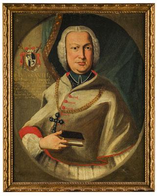 Bischof Johann Anton Federspiel (1708-1777). HMO P 0030