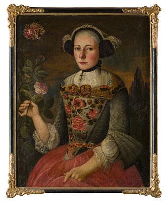 Anna Maria Imfeld-Stockmann (1721-?). HMO P 0037