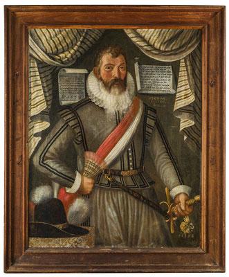Landesfähnrich Johann Krummenacher (1576-1656). HMO P 0088