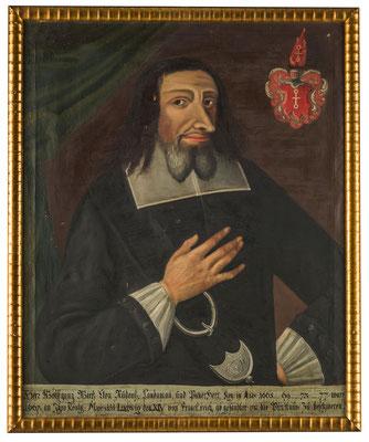 Wolfgang Wirtz von Rudenz (1605-1680). HMO P 0163