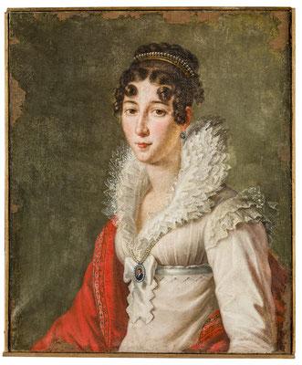 Unbekannte Italienerin. Um 1850. HMO P 0181
