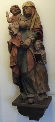 St. Anna Selbdritt. Anfang 16. Jh. HMO Ka 0323