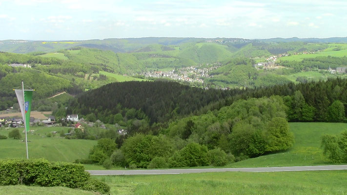 Blick von der Malbergshütte