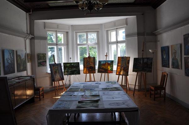 Ausstellung im Gutshaus, 2018