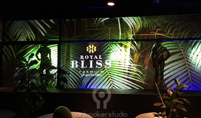 Body Painting y Camuflaje para Royal Bliss Museo Reina Sofia