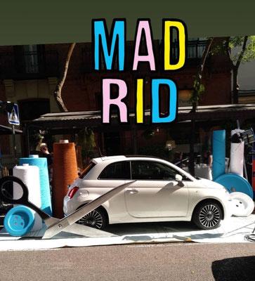 Escenografía y Ficticios para Evento FIAT MADRID  Junio 2018