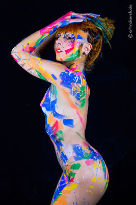 abstraction body art