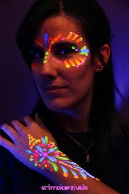 fluor make up