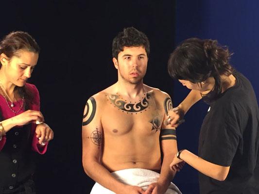 """Tattoo  Temporal Willyrex de Vaiana  Disney Making of """"artmakerstudio"""""""