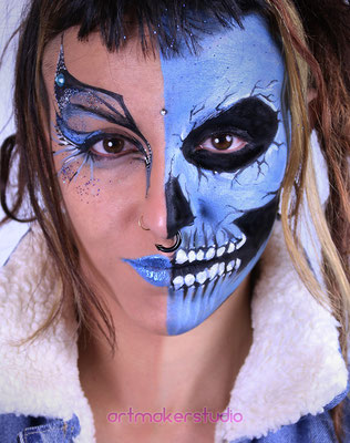 Beauty-Skull Halloween