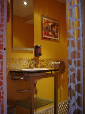 decoración de baño Café de Mar Valencia