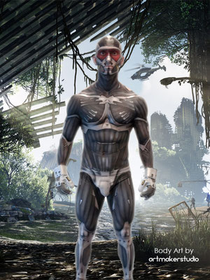 Crysis 3 Body Art